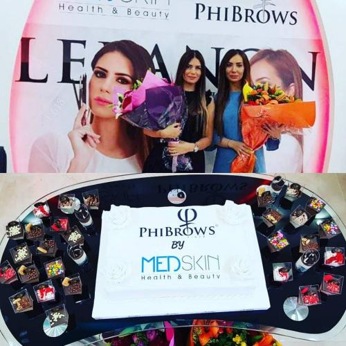 Phibrows Workshop – 9/10 September 2017 in Beirut, Lebanon