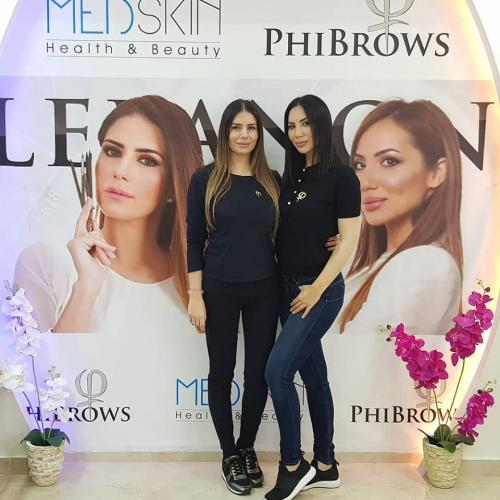 Phibrows Training/Workshop - 7/8/9 March 2018 in Kaslik, Lebanon